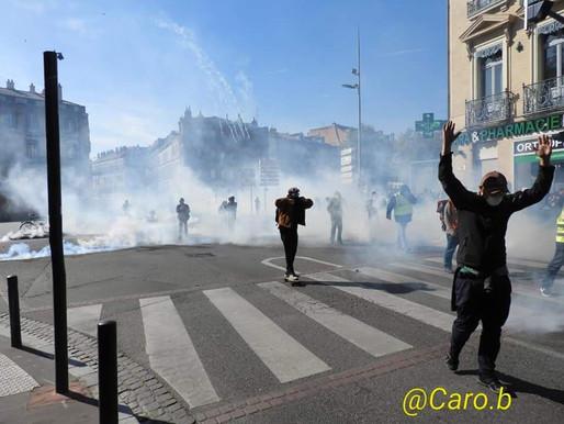 Toulouse acte 22 : une manifestation sous haute tension