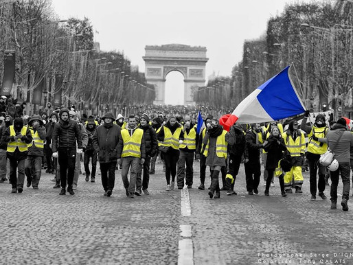 Paris: un 14 mars sous haute-tension