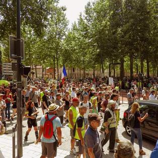 Gilets jaunes Toulouse : un parcours différent et 5 interpellations