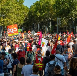 Toulouse: les syndicats dans la rue