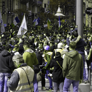 TOULOUSE: 15000 MANIFESTANTS