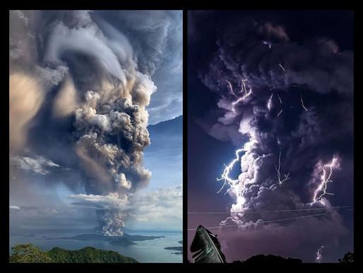 Monde Philippines : le réveil du volcan Taal