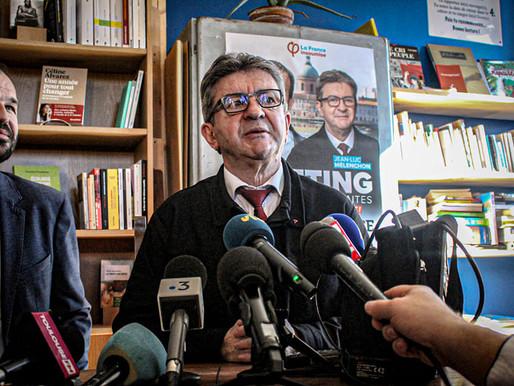 Toulouse: reportage photographique Jean-Luc Mélenchon