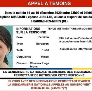 Disparition: affaire Delphine Jubillar