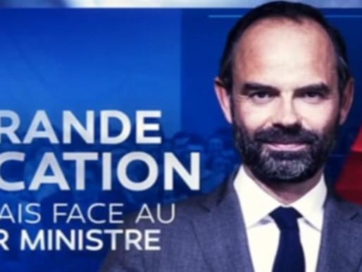 Covid-19: Edouard Philippe face aux français