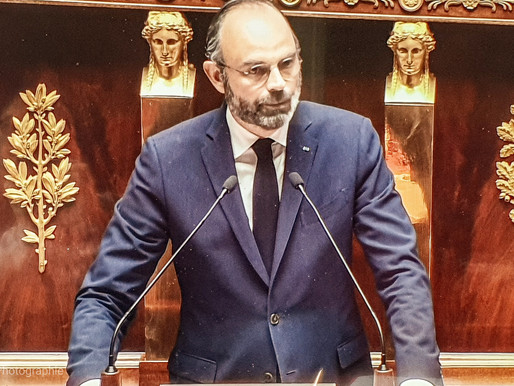 France: point de situation allocution Edouard Philippe
