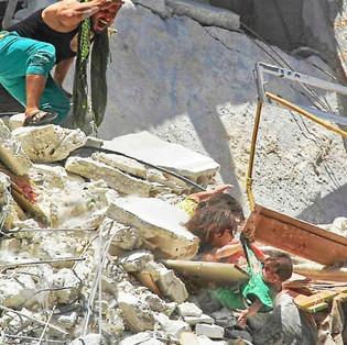 Non la guerre en Syrie n'est pas fini