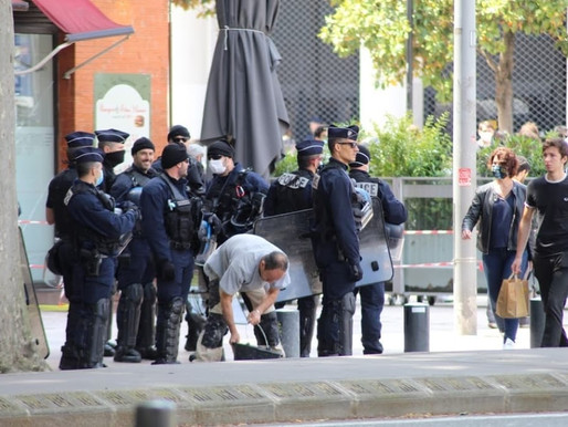 Toulouse: Gilets jaunes- manifestation une fois de plus interdite