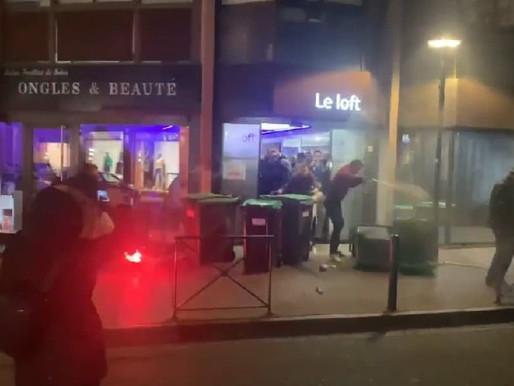 """Toulouse: Le meeting RN perturbé par les """"antifas"""""""