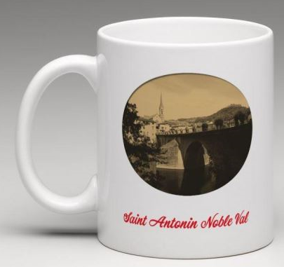mug Saint Antonin Noble Val rond