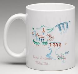 Mug Saint Antonin Noble Val peinture rec