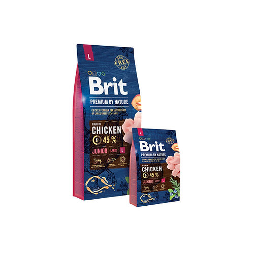Brit Premium By Nature Junior Large - 3kg y 15 kg
