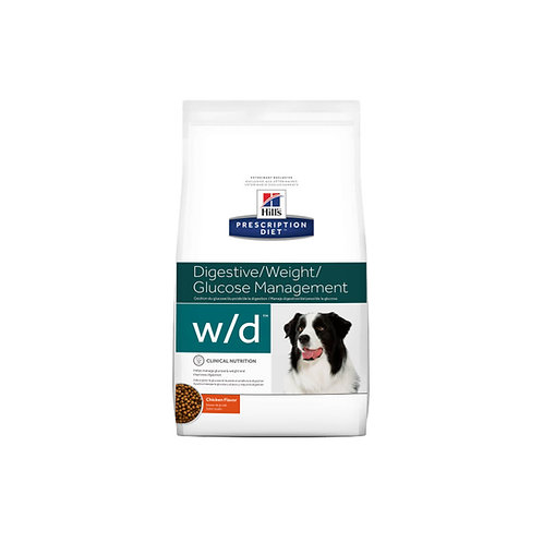 Hill's® Prescription Diet® w/d® Canine - 1.5kg, 3.9kg y 8kg