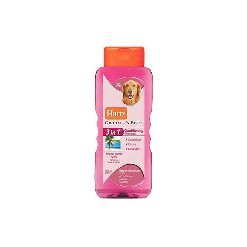 Hartz Groomer's Best 3 in1 Conditioning Shampoo - 532ml
