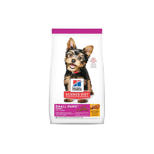 Hill's® Science Diet® Puppy Small Paws™ Chicken Meal, Barley & Brown Rice Recipe
