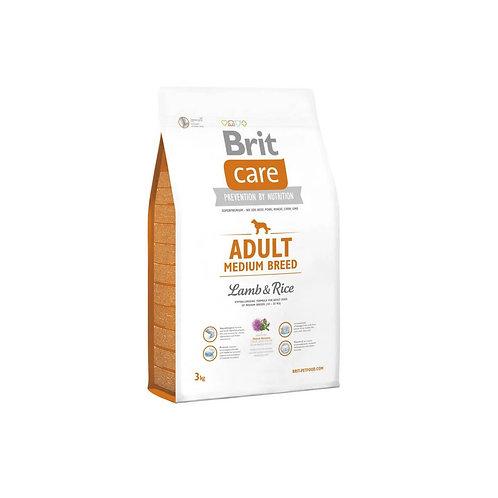 Brit Care Adult Medium Breed Lamb & Rice - 3kg y 12kg