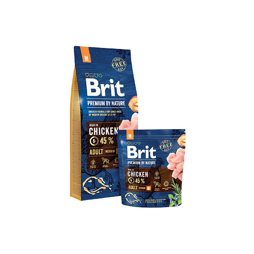 Brit Premium By Nature Adult Medium - 3kg y 15 kg