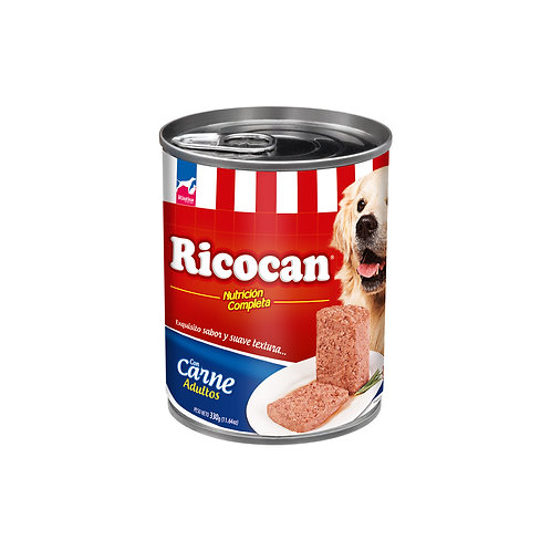 Ricocan Paté Adultos Carne
