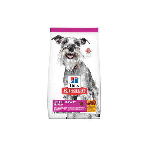 Hill's® Science Diet® Adult 7+ Small Paws™ Chicken Meal, Barley & Brown Rice Rec