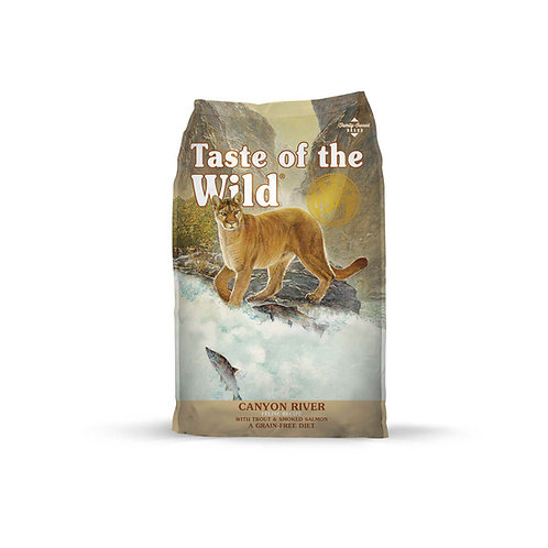 Taste of the Wild Canyon River Feline Formula with Troutt & Smoked Salmon
