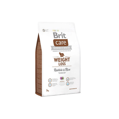 Brit Care Weight Loss Rabbit & Rice - 3kg y 12kg