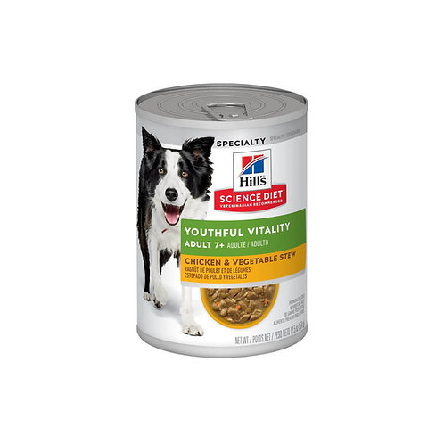 Hill's® Science Diet® Adult 7+ Youthful Vitality Chicken & Vegetable Stew