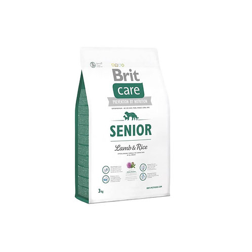 Brit Care Senior Lamb & Rice - 3kg y 12kg
