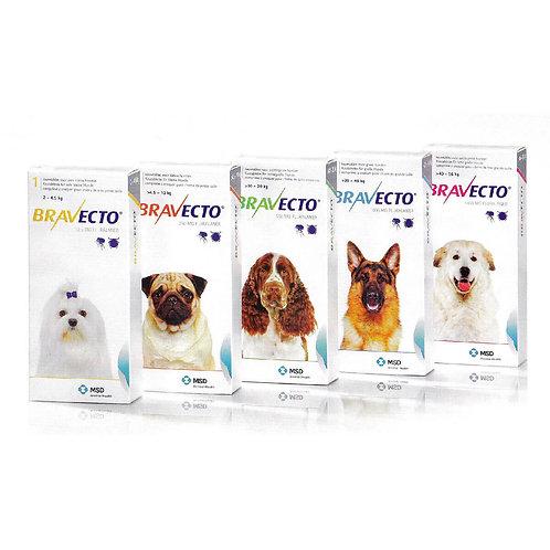 Antipulgas Bravecto - Comprimidos Canino (Pastillas)