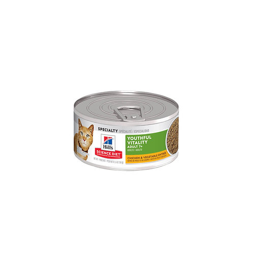 Hill's® Science Diet® Youthful Vitality Adult 7+ Chicken & Vegetable Entrée