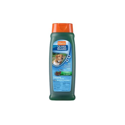 Hartz Hug Rid flea dog shampoo - fresh scent