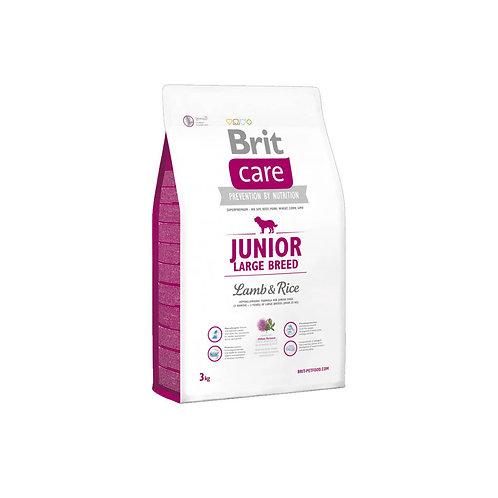 Brit Care Junior Large Breed Lamb & Rice - 3kg y 12kg