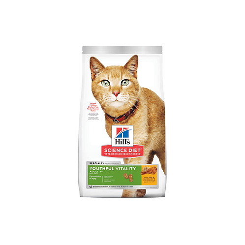 Hill's® Science Diet® Feline Adult 7+ Youthful Vitality