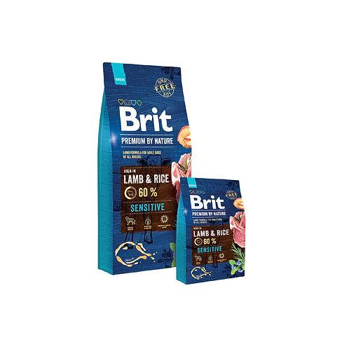 Brit Premium By Nature Sensitive Lamb - 3kg y 15 kg