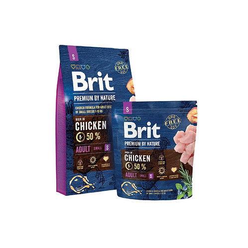 Brit Premium By Nature Adult Small - 3kg