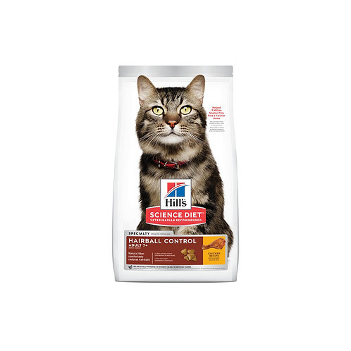 Hill's® Science Diet® Feline Hairball Control Adult 7+