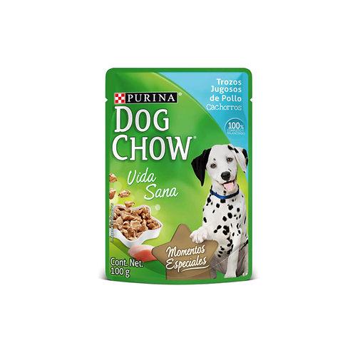 Dog Chow Trozos Jugosos de Pollo
