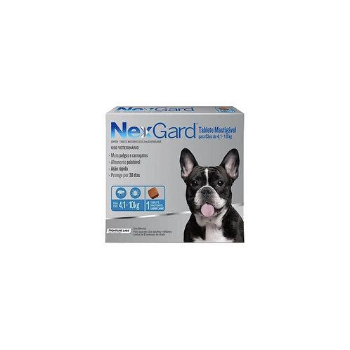 Antipulgas Nexgard 4.1 a 10 kg - Comprimidos