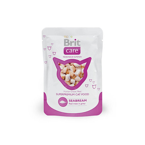 Brit Care Cat Seabream Pouch
