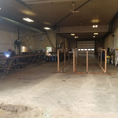 BJ Fencing ltd. Our Facility