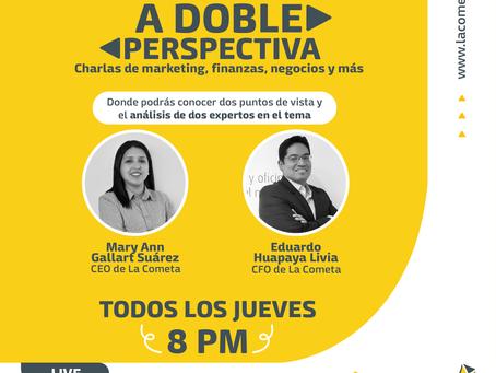 """Nuevo programa online """"A doble perspectiva"""" - Edición N° 1"""