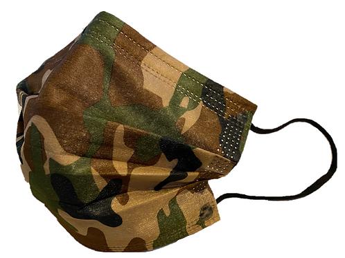 Hygienemaske / Einweg, Camouflage Typ I
