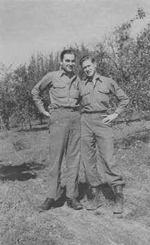 Dad and Army buddy.jpg