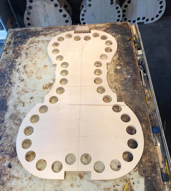 The mold for our newest 5/8 model.