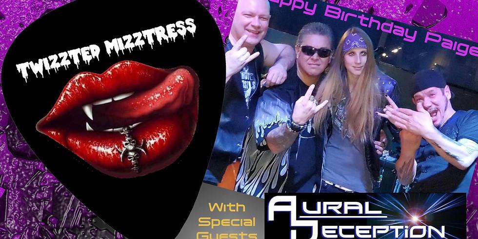 Live & Livestream - Twizzted Mizztress & Aural Deception