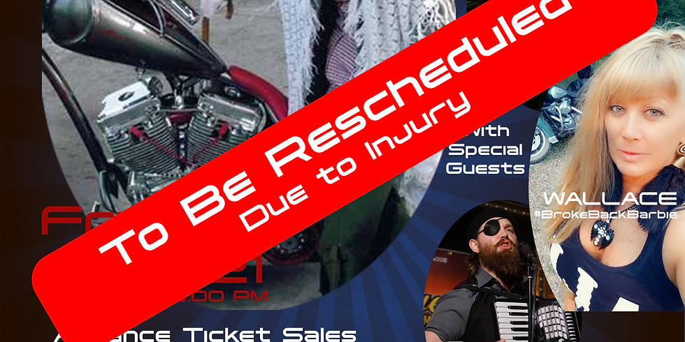 POSTPONED - TO BE RESCHEDULED