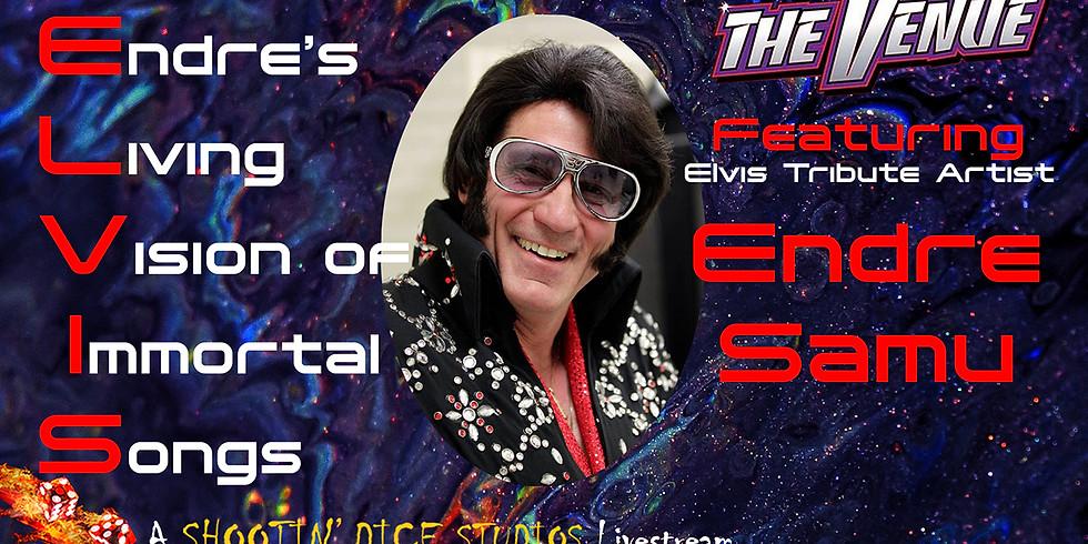 Elvis Tribute Artist Endre Samu LIVE & LIVESTREAM