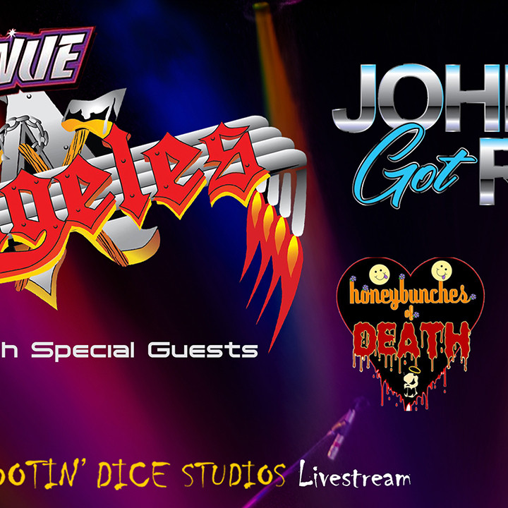 Angeles, Johnny Got Rox, Sunrise Drive and Honey Bunches of Death Live at The Venue