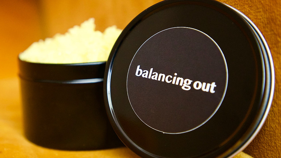 balancing out body scrub
