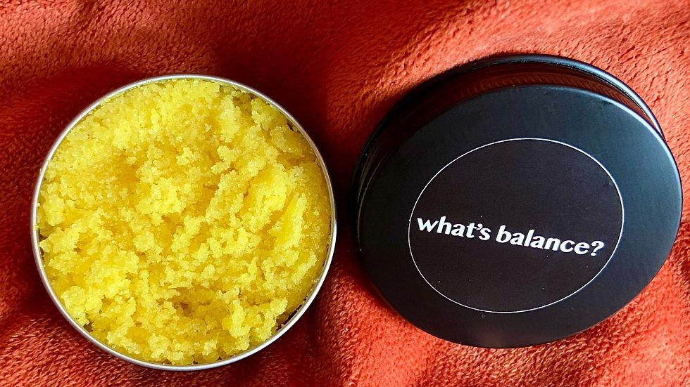 what's balance? lip scrub