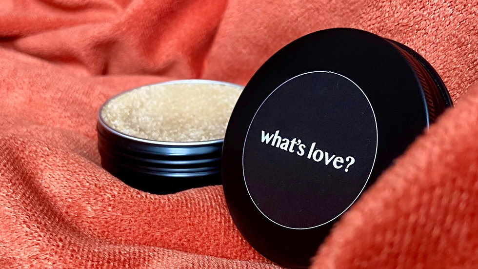 what's love? lip scrub